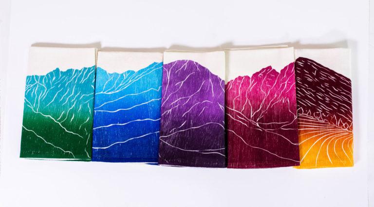 gift guide tea towels artworks store